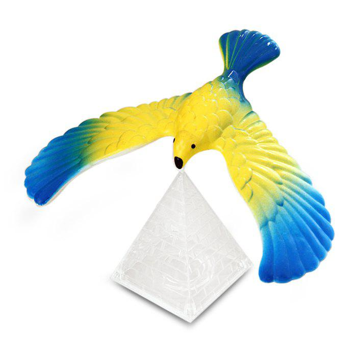 Magic Balancing Eagle Model Decoration for Home OfficeHOME<br><br>Color: RANDOM COLOR; Material: PVC; Usage: Stage,Halloween,Easter,Teachers day,Birthday,Christmas,New Year,Performance,Others,Party,Wedding; Color: Blue,Silver;