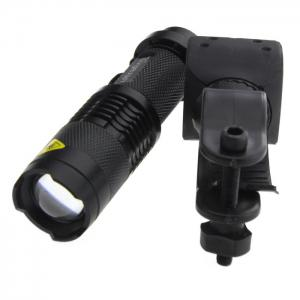 Ultrafire UK - 68 Cree Q5 300Lm 3 Modes Waterproof LED Flashlight Torch with Adjustable Focus -