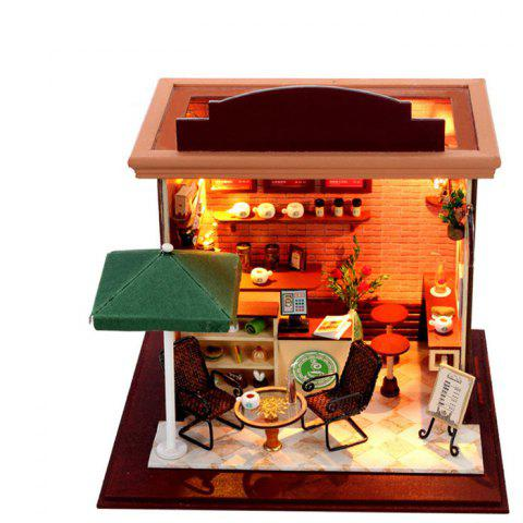 Affordable Doll House LOZ ABS Street View Architecture Building Block Educational Movie Product Kid Toy