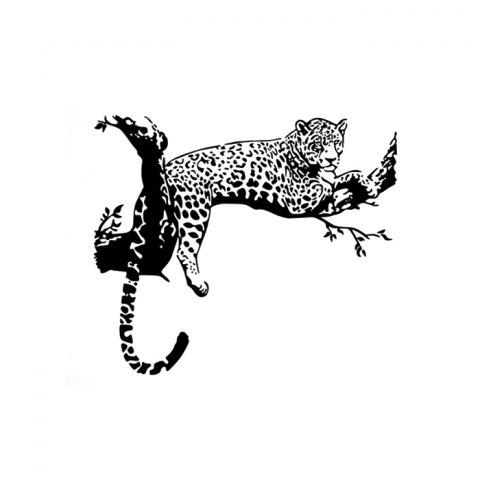 Hot PVC Leopard Shape Decorative Wallpaper Wall Stickers Water Resistant Home Art Decals