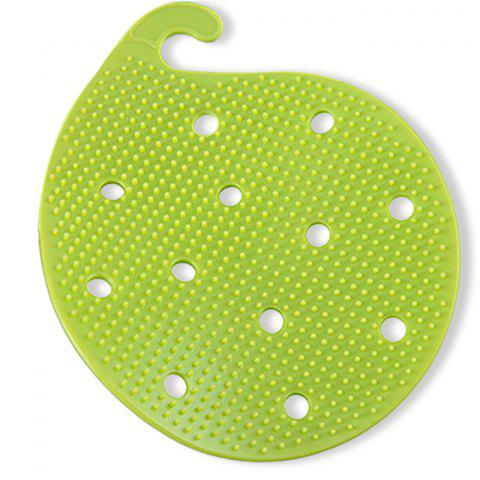 Trendy Multi-functional Fruit Vegetable Cleaning Brush Microwave Heat Resistant Protector Kitchen Tool - COLORMIX  Mobile