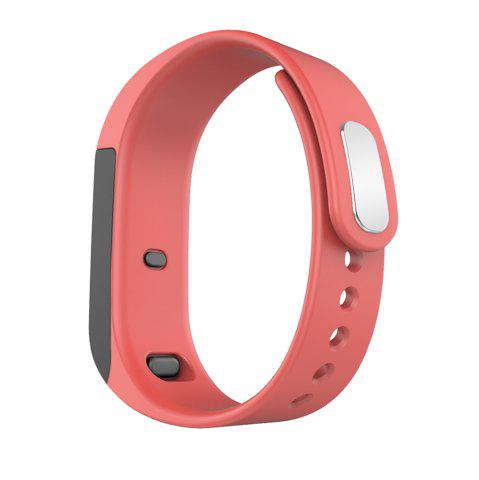 Cheap I5 Plus Smart Bracelet IP65 Bluetooth 4.0 Watch Wristband Sleep Monitoring Sports Tracking Remote Camera - RED  Mobile
