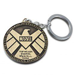 Portable The Avengers-SHIELD Sign Metal Bulk Key Chain