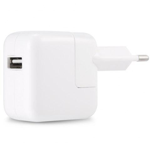 Europe Plug Style Charger Adapter with Universal USB 2.0 Interface - White