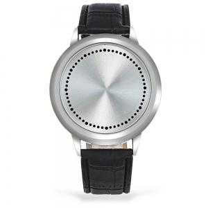 Water Resistant LED Touch Screen Watch - WHITE
