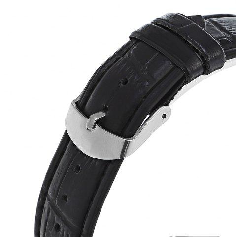Chic Water Resistant LED Touch Screen Watch - WHITE  Mobile
