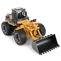 HUINA 1520 1:18 2.4GHz 6CH RC Alloy Truck Construction Vehicle -
