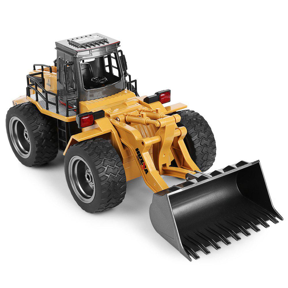 Hot HUINA 1520 1:18 2.4GHz 6CH RC Alloy Truck Construction Vehicle