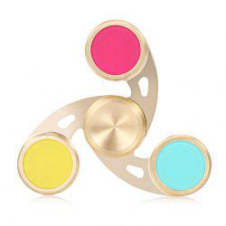 Colorful Fidget Spinner Stress Reliever Pressure Reducing Toy for Worker