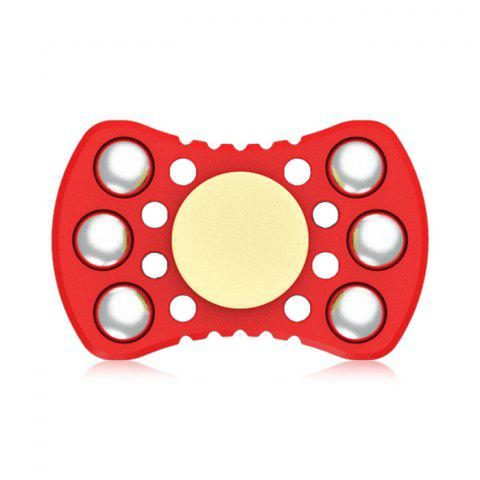 Online ABS ADHD Fidget Spinner with R188 Bearing Stress Relief Toy Relaxation Gift for Adults RED