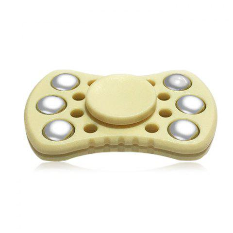 Outfits ABS ADHD Fidget Spinner with R188 Bearing Stress Relief Toy Relaxation Gift for Adults PALOMINO