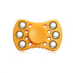 ABS ADHD Fidget Spinner with R188 Bearing Stress Relief Toy Relaxation Gift for Adults - ORANGE