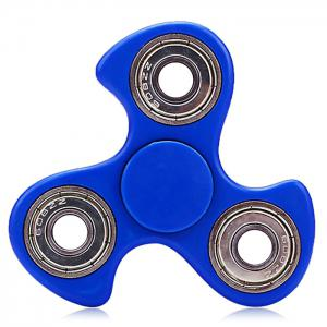 608 ABS Fidget Spinner Stress Relief Product Adult Fidgeting Toy - Blue - 6*6cm