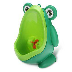 Children Frog Shaped Wall-hung Urinal Removable Kids Potty Toilet Little Boys Pee Trainer -