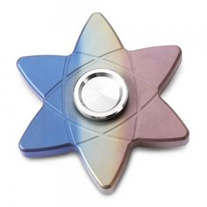 FURA Six-pointed Star Hand Spinner Stress Relief Product Adult Fidgeting Toy -