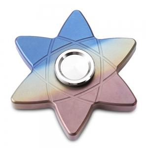FURA Six-pointed Star Hand Spinner Stress Relief Product Adult Fidgeting Toy - COLORFUL