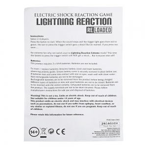 Lightning Reaction Trick Toy for 2 - 4 People Punish Game -