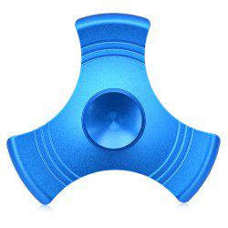 Three-blade Gyro Stress Reliever Pressure Reducing Toy for Office Worker - BLUE