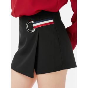 Shorts Pantskirt - BLACK M