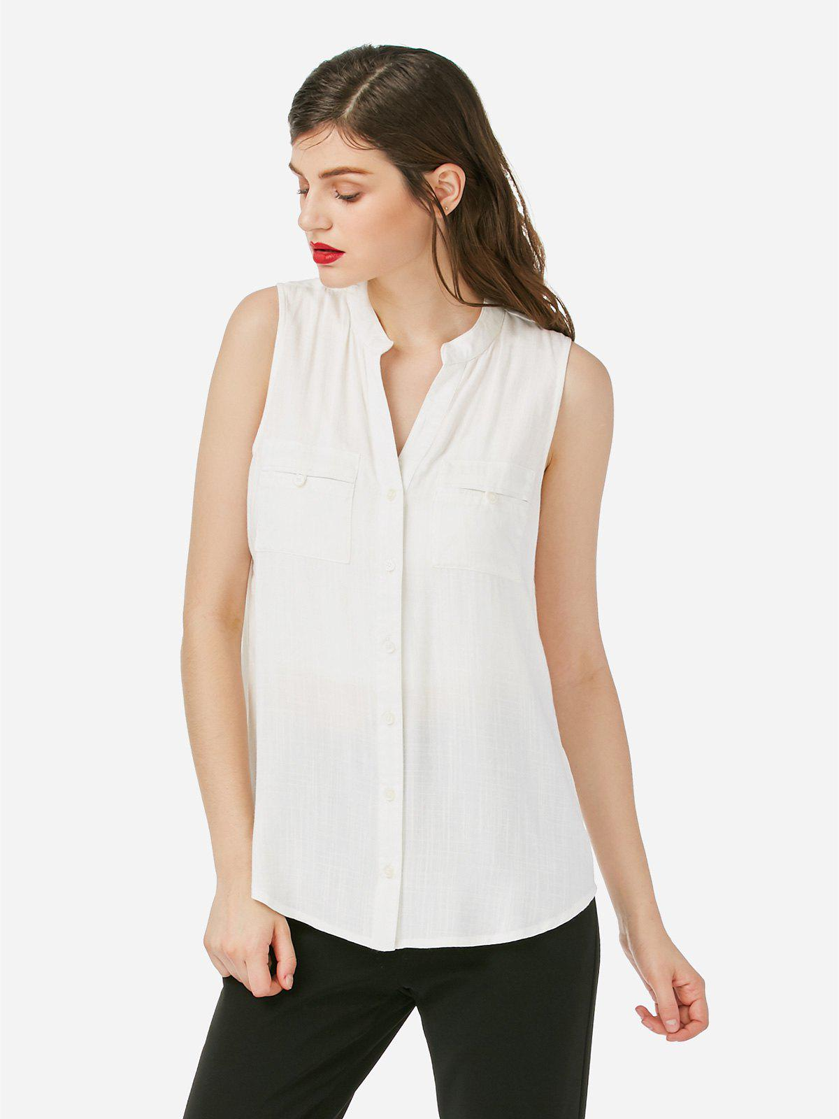 Shop ZAN.STYLE Sleeveless Blouse