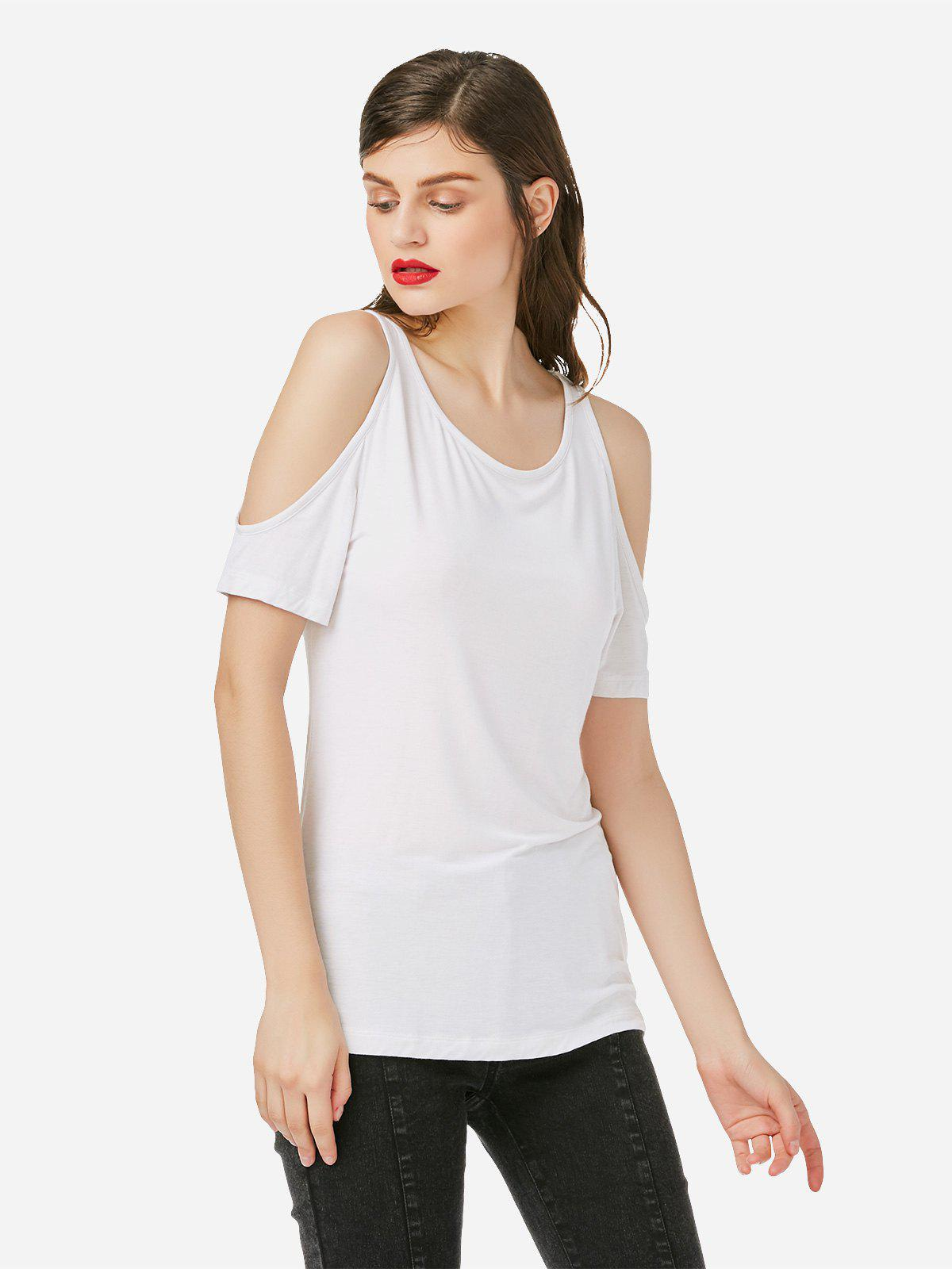 New Cold Shoulder T-shirt