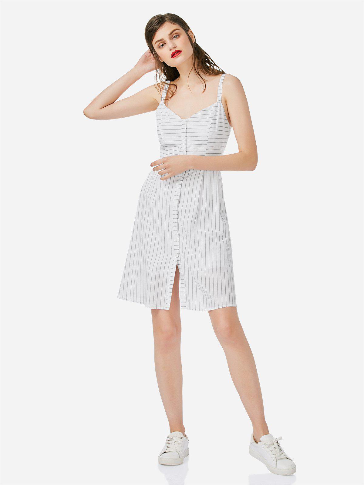 Trendy Stripe A-line Dress