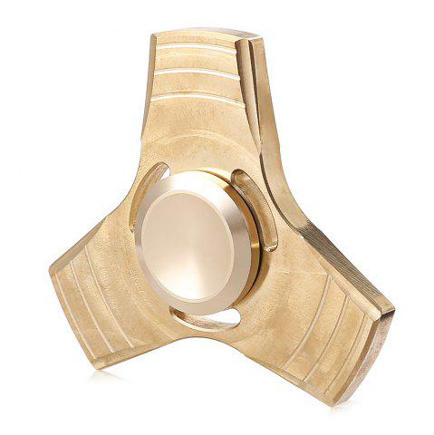 Best Brass Gyro Tri Fidget Spinner Stress Reliever Toy for Office Worker