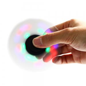 Colorful LED Gyro Stress Reliever Pressure Reducing Toy for Office Worker -