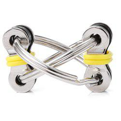 Chain Puzzle Style Stress Reliever Pressure Reducing Toy for Office Worker -