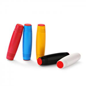 Fidget Roller Rolling Stick Style Stress Reliever Pressure Reducing Toy for Office Worker - DEEP RED