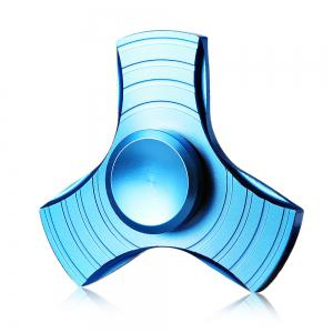 Three-blade Gyro Stress Reliever Toy for Office Worker - BLUE