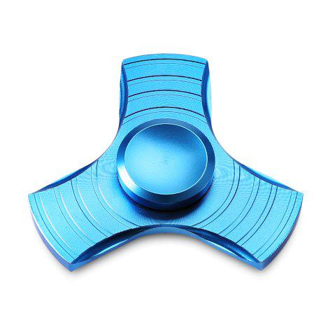 Unique Three-blade Gyro Stress Reliever Toy for Office Worker BLUE