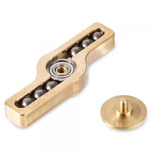 Copper Gyro Stress Reliever Pressure Reducing Toy - GOLDEN