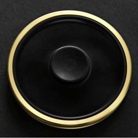 Fancy MINGTA Copper CNC Gyro Stress Reliever Pressure Reducing Toy for Office Worker - GOLDEN  Mobile