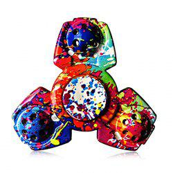 Colorful Triangular ADHD Adult Fidget Spinner Funny Stress Reliever Relaxation Gift - COLORMIX