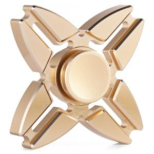 Four-pointed Star Gyro Stress Reliever Pressure Reducing Toy for Office Worker