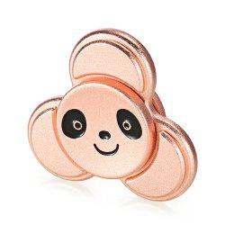 KELIMA Animal Head Pattern Fidget Spinner Zinc Alloy Stress Relief Product Adult Fidgeting Toy - ROSE GOLD