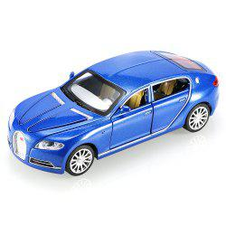 1:32 Aluminum Alloy Car Model Pullback Vehicle Collection Toy with Music Light -