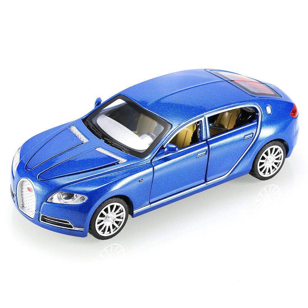 Cheap 1:32 Aluminum Alloy Car Model Pullback Vehicle Collection Toy with Music Light