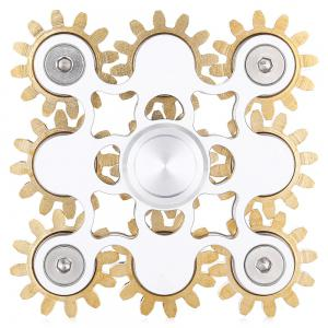 Linkage Fidget Spinner ADHD Stress Relief Product Adult Fidgeting Toy - SILVER