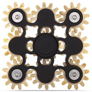 Linkage Fidget Spinner ADHD Stress Relief Product Adult Fidgeting Toy - Black