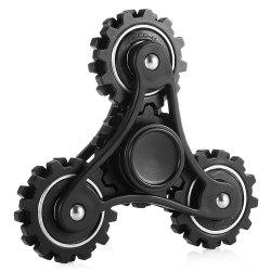 Four Gear Linkage Fidget Spinner Zinc Alloy Stress Relief Toy Relaxation Gift for Adults -