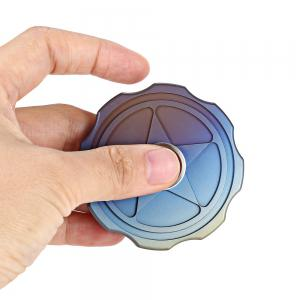 FURA Durable Gyro Stress Reliever Pressure Reducing Toy for Office Worker -