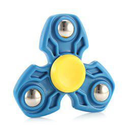 ABS Durable Gyro Stress Reliever Pressure Reducing Toy for Office Worker - BLUE