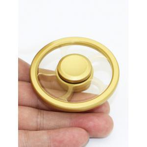 Roue Fingertip Spinning Top Finger Gyro Focus Toys Stress Reliever - Jaune