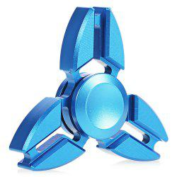 Fashion Gyro Stress Reliever Pressure Reducing Toy for Office Worker - BLUE