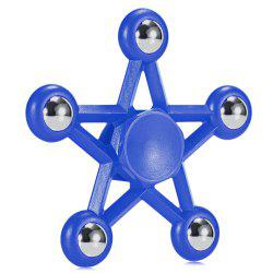 Five-pointed Star Plastic Hand Spinner Funny Stress Reliever Relaxation Gift