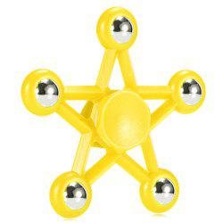 Five-pointed Star Plastic Hand Spinner Funny Stress Reliever Relaxation Gift -