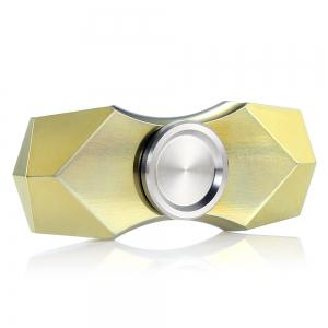 FURA TC4 Titanium Alloy Fidget Spinner with Tungsten Carbide Bead Funny Stress Reliever Relaxation Gift - Yellow