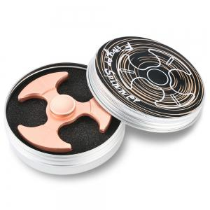 Tri-bladed Axe Zinc Alloy Fidget Spinner Stress Relief Product Adult Fidgeting Toy - ROSE GOLD